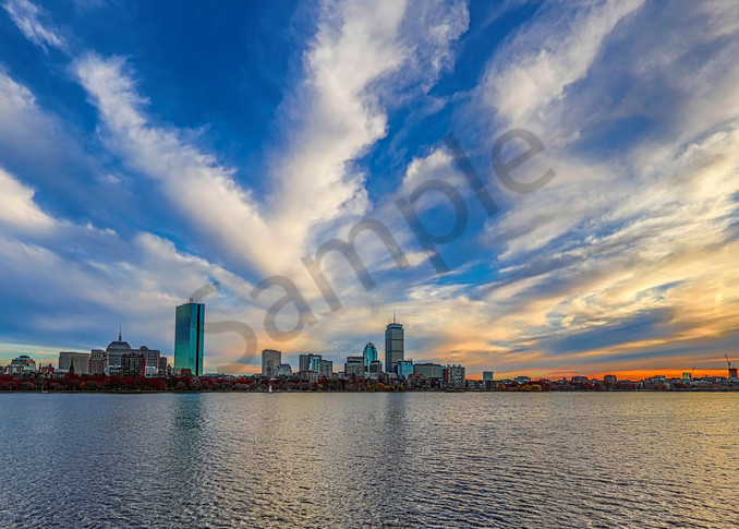 Boston Clouds Photography Art | John Martell Photography