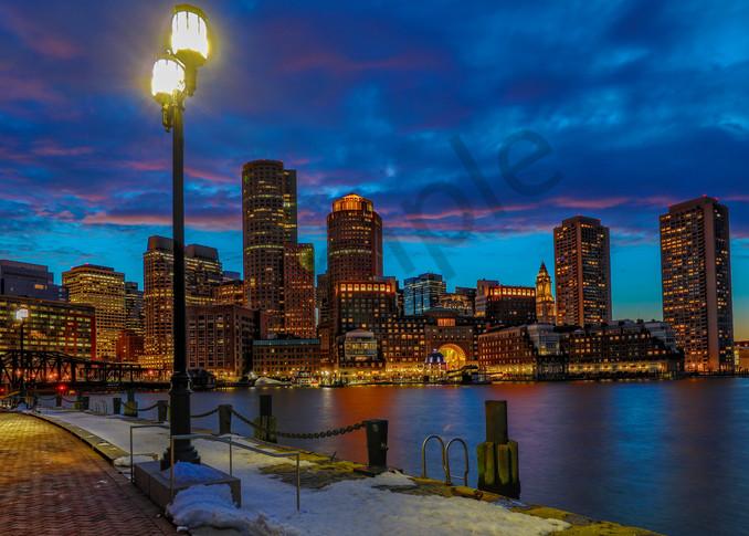 Boston Skyline 2 Photography Art | John Martell Photography