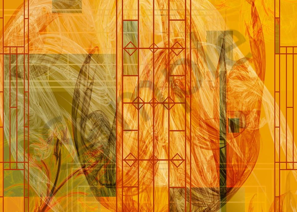 Craftsman Tulip digital art by Cheri Freund