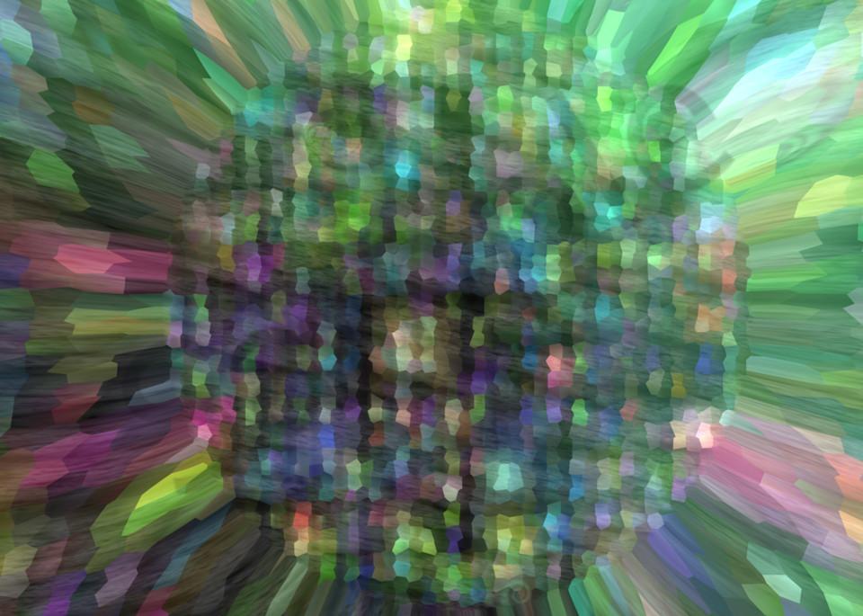 Electro SunFlower digital art by Cheri Freund