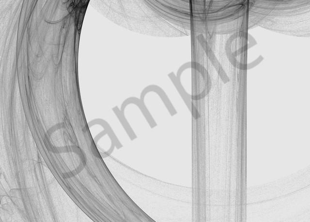 Liquid Smoke spilling over digital art by Cheri Freund