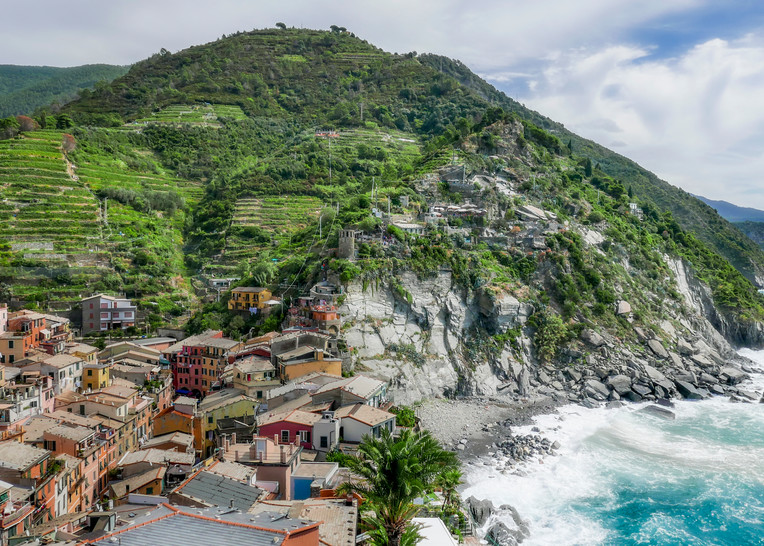 Part of the Italian Riviera - located in northwestern Italy - Fine Art Prints - photography