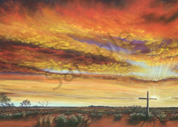 Easter Sunrise in Bourke by Jenny Greentree