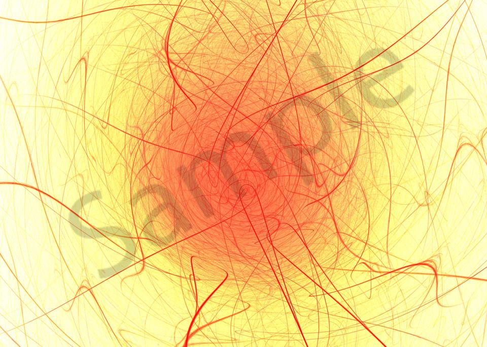 NeedleNThread modern Japanese digital art by Cheri Freund