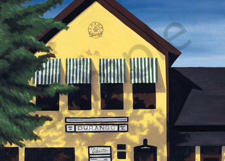 D&S Narrow Gauge RR Depot | Durango, CO | Fine Art Prints & Notecards