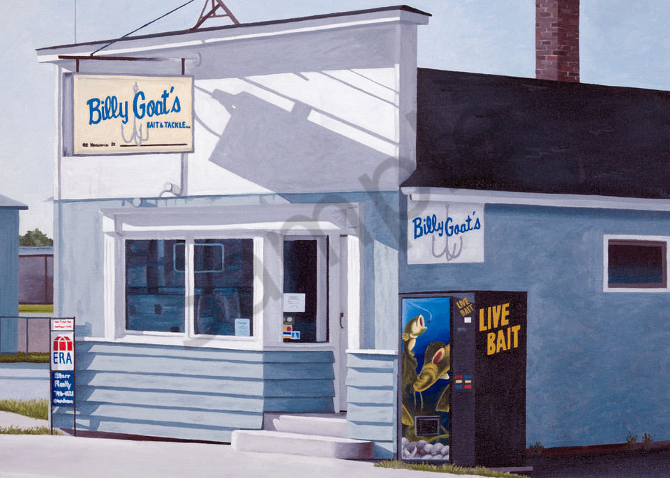 Billy Goat's Bait Shop | Fine Art Print | Algoma, WI
