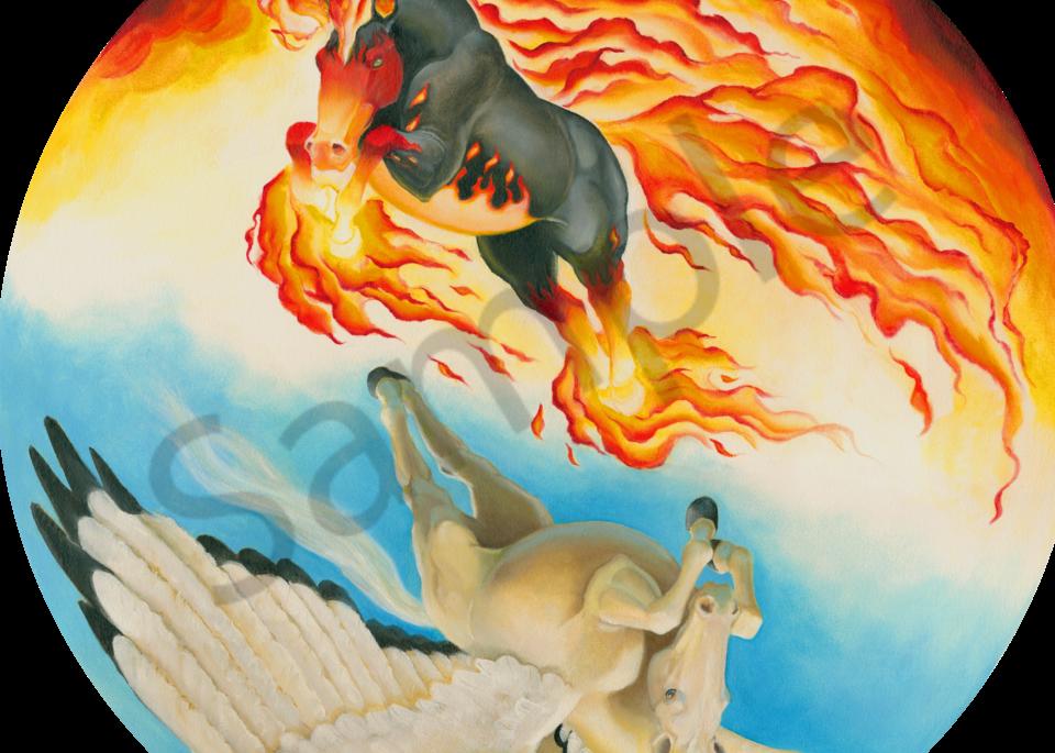 Nightmare and Mesa Pegasus Yin Yang