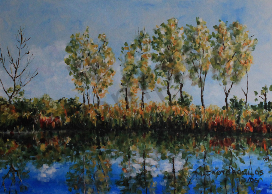 """""""Reflections"""" by Canadian Artist Joan Fotopoulos 