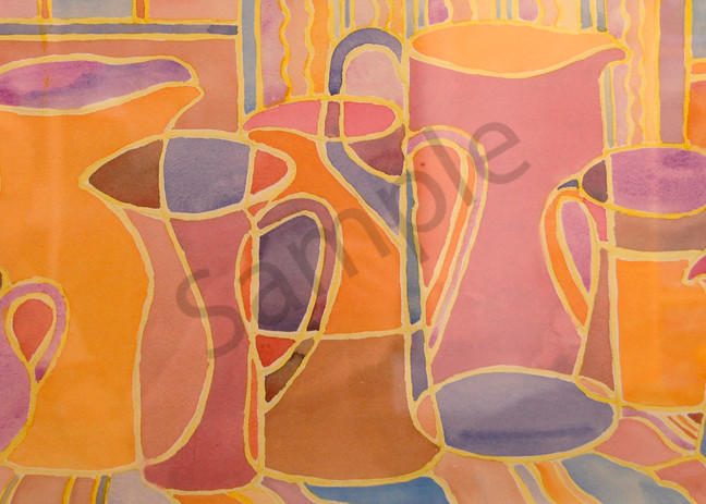 """""""My Pitcher Collection"""" by Judy Johnson 