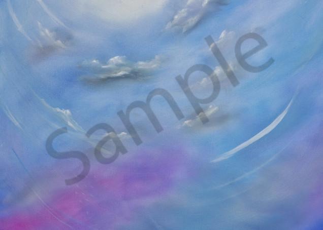 Color Of Wind   Winter Skies Art | Art Relief