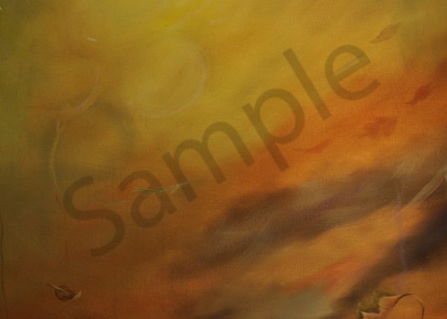 Color Of Wind   Fall Skies Art   Art Relief