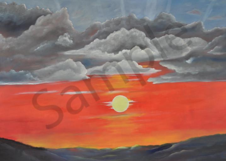 No Dak Skies   Bismarck Art | Art Relief