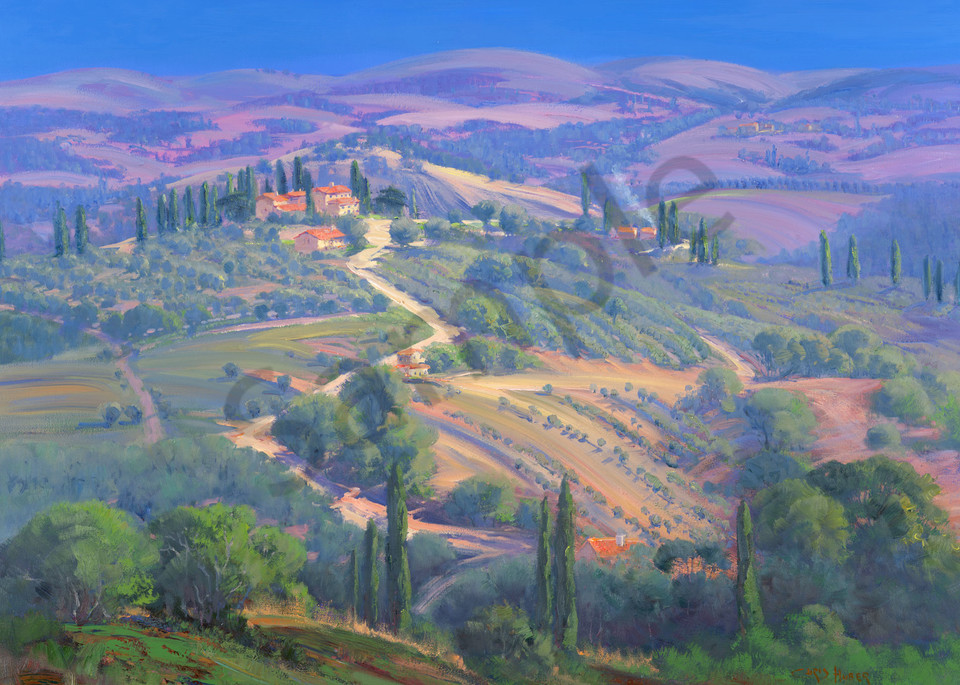 Rolling Hills of Tuscany