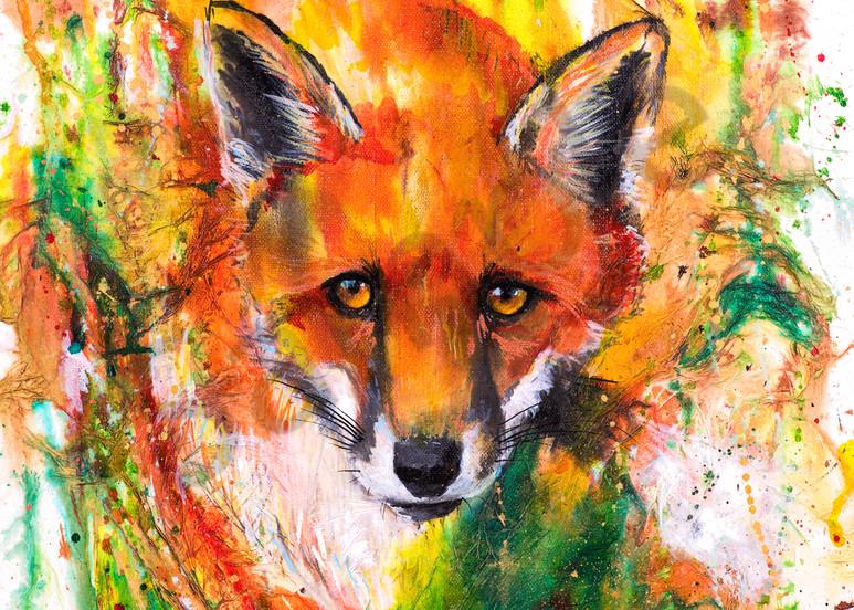 Ink Series Fox II