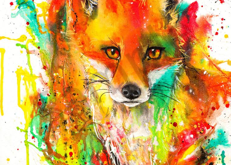 Ink Series Fox I