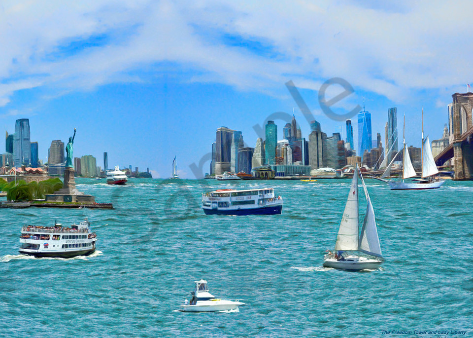 New York City Skyline Art - The Gallery Wrap Store
