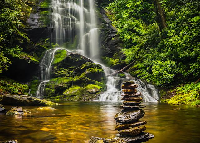 Upper Catabwa Falls Photograph for Sale as Fine Art