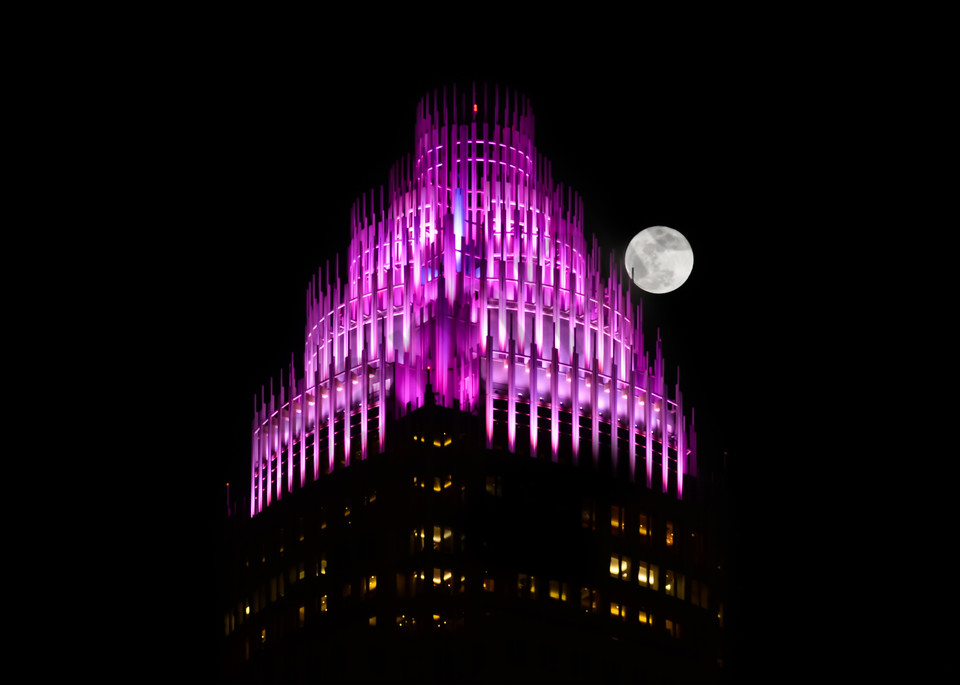 Moonlight Over Charlotte Photograph for Sale as Fine Art