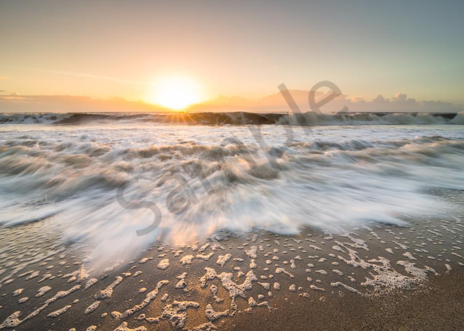 Folly Beach Tide Photograph for Sale as Fine Art