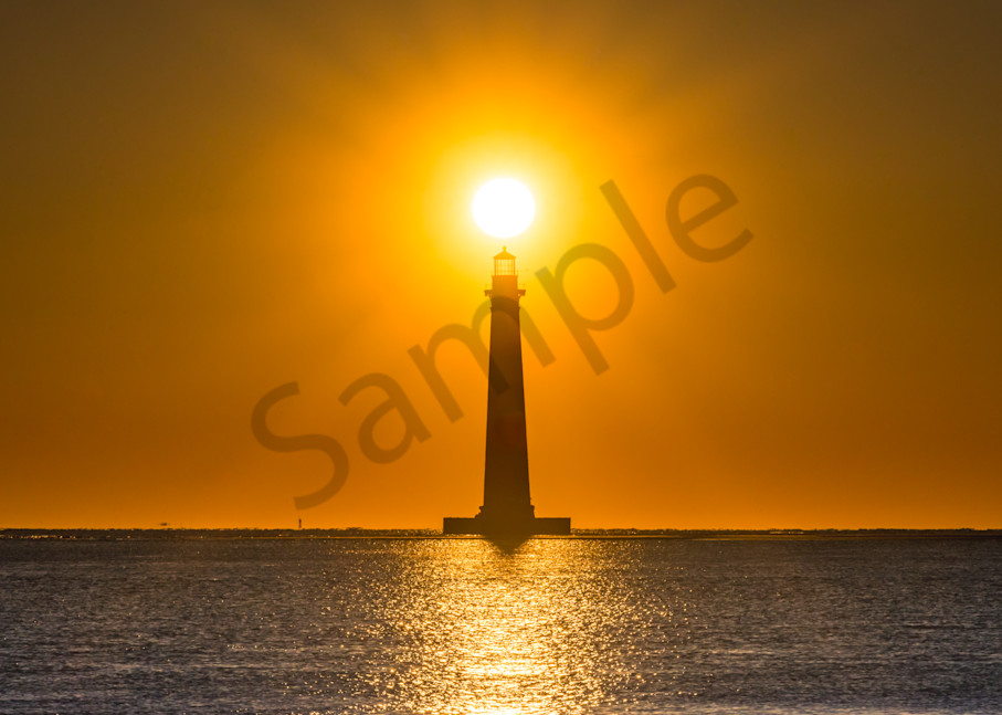 Morris Island Lighthouse Photograph for Sale as Fine Art