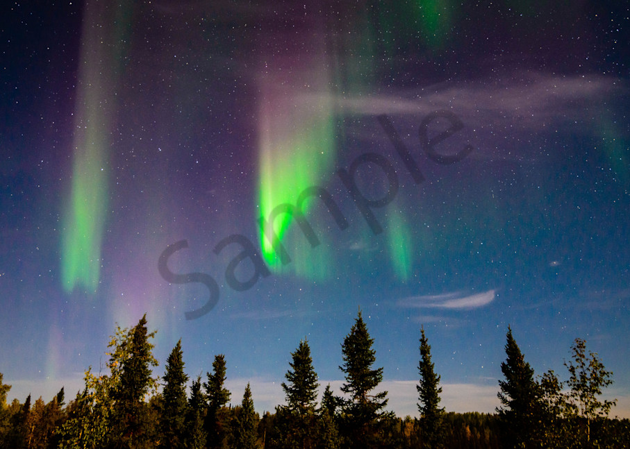 Canadian Northern Lights Photograph for Sale as Fine Art