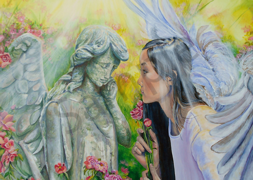 """""""Angels and Roses"""" by Gina Harding 
