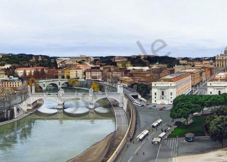 Rome cityscape print   Kevin Grass Fine Art