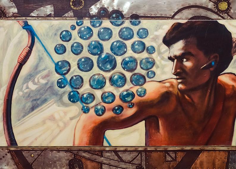 """Warrior: The Call"" by Andrei Cicală | Prophetics Gallery"