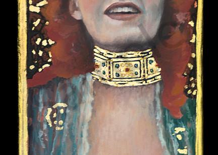 Designs by Teri   Teri Vereb Fine Art Paintings   Red   Klimt