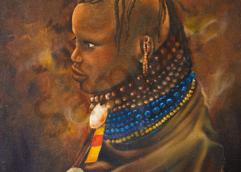 African Tribesman Art | The Soap Gallery