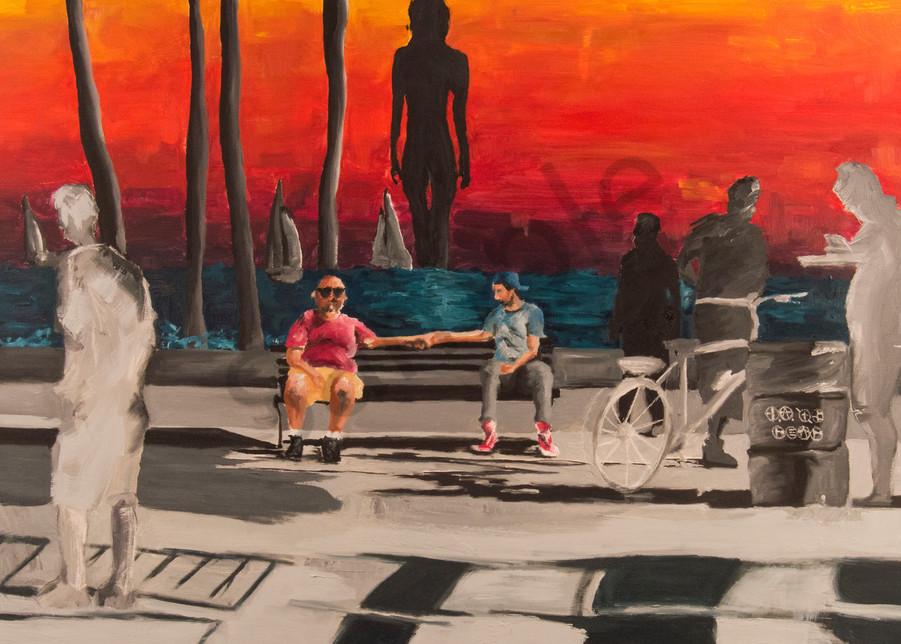 The Boardwalk Art   Alex Ranniello Art