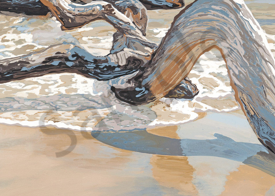 Water, Wind, Wood 3 | Contemporary Landscapes | Gordon Meggison IV