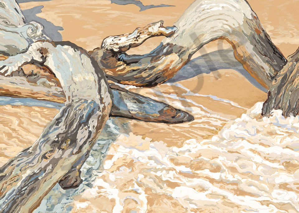 Water, Wind, Wood 5 | Contemporary Landscapes | Gordon Meggison IV