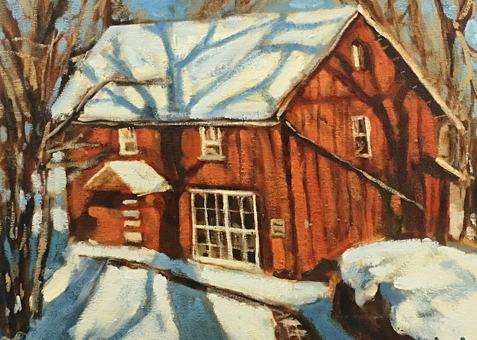 Octagon House Barm Art | Geoffrey Butz Art & Design Inc