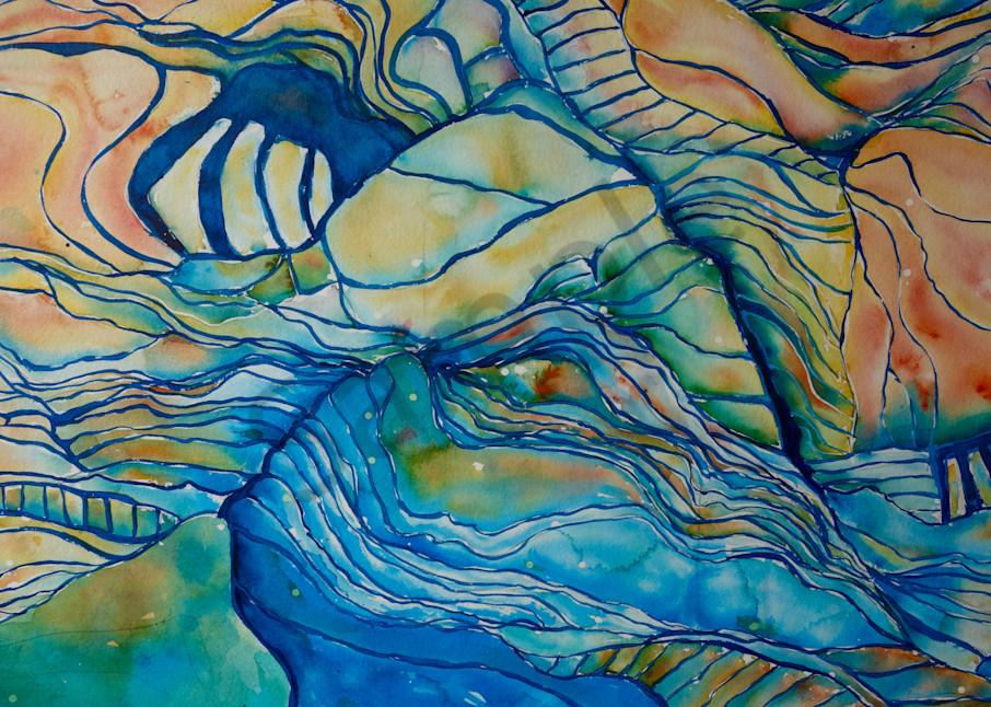 Rice Paddy Dreamscape No. 1 Art   Amy Tigner Art