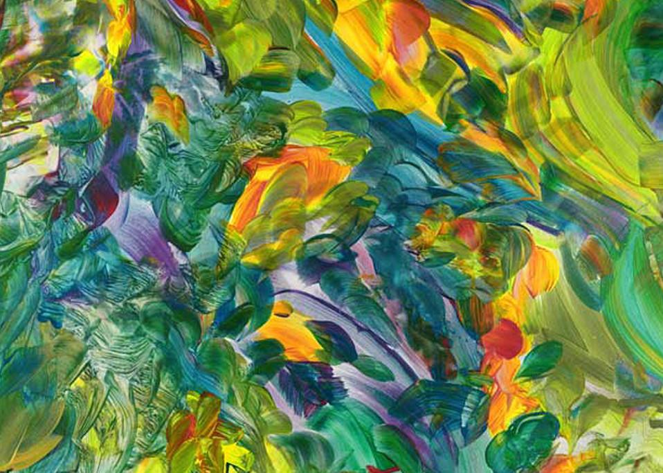 Jubilation print by Bonnie Loeh.