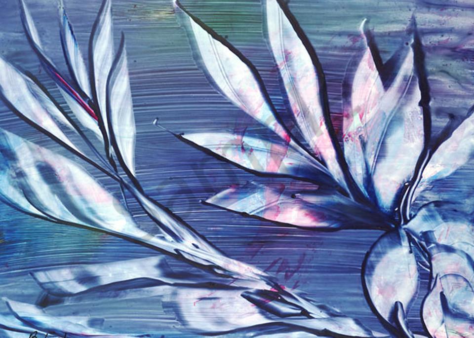 Lotus print by Bonnie Loeh.