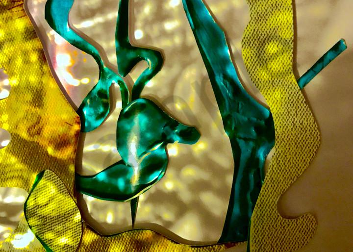 Odeta Xheka Visuals | Light and shadow monochromatic collage