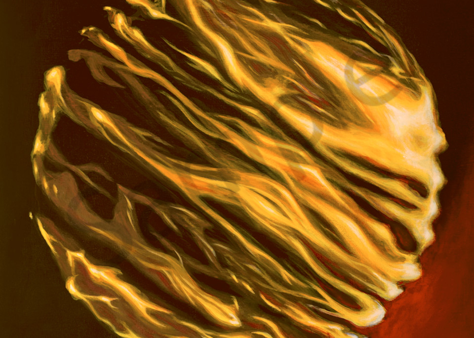 Fire Globe Art | FireFlower Art