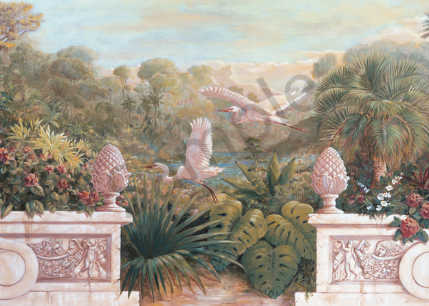 Secret Garden 5 | Murals in Classical Style | Gordon Meggison IV