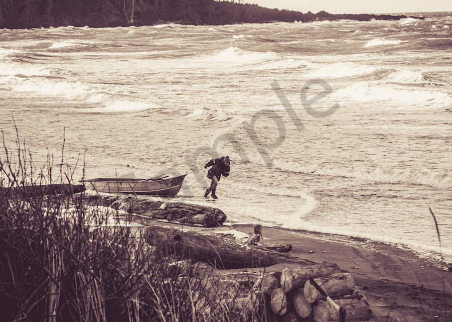 Stormy North Beach Photography Art   Talon Gillis