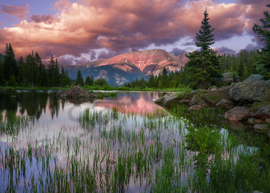 rocky mountains, red mountain