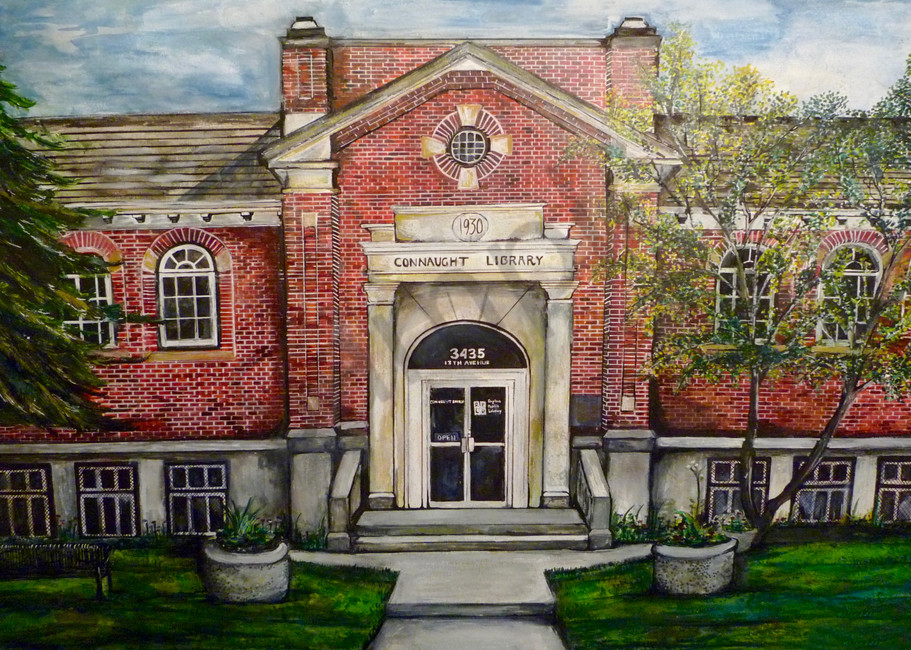Connaught Library  Art | Art By Dana