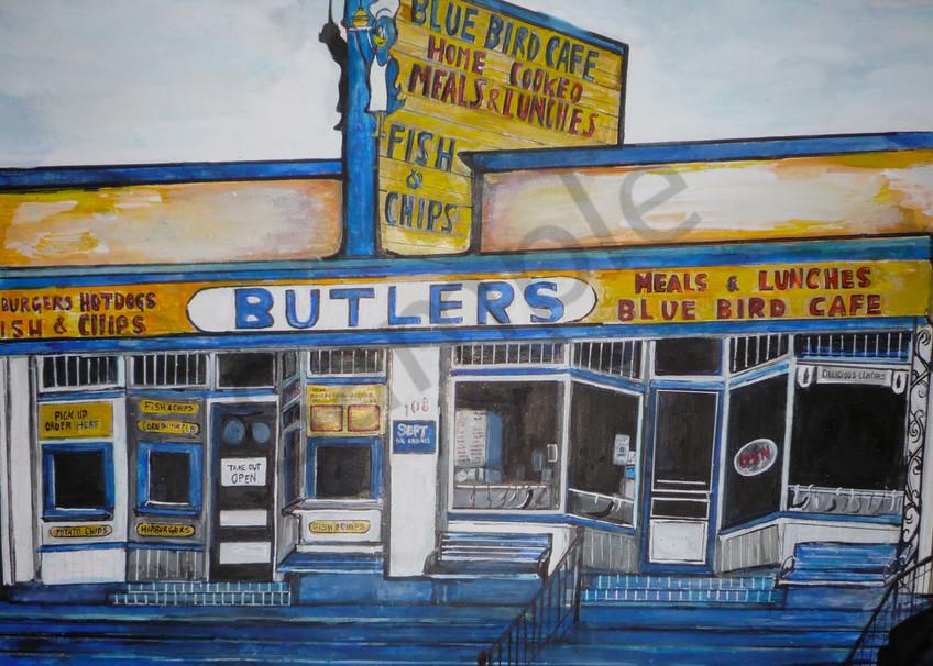 Butlers Cafe  Art | Art By Dana