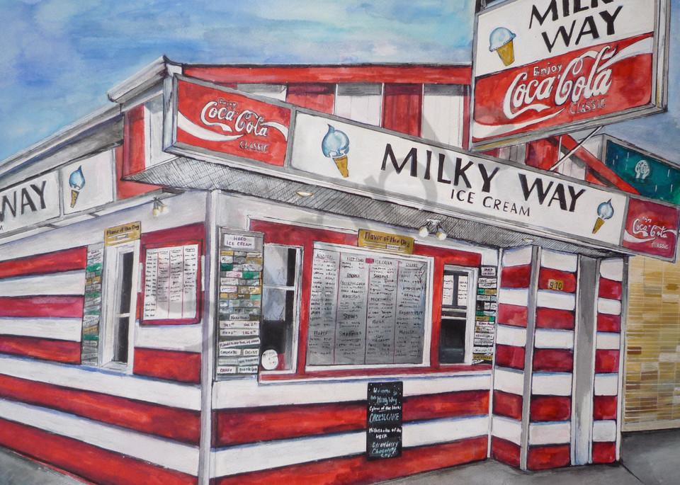 Milky Way  Art | Art By Dana
