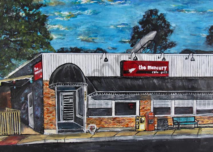 The Mercury  Art | Art By Dana