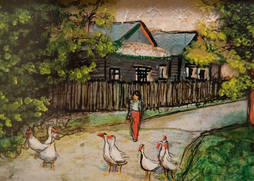 Feed The Ducks Art   Haley Litzinger