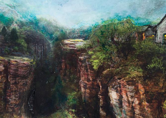 Cliff Cottage Art | Haley Litzinger