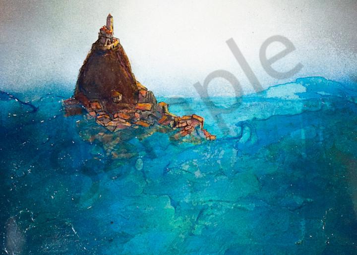 Sea Tower Art   Haley Litzinger