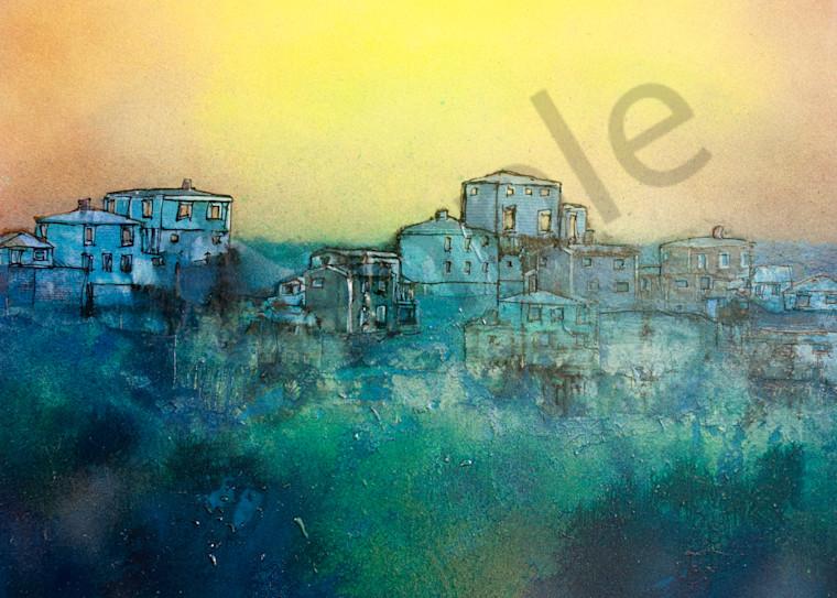 Yellow Sky City Art | Haley Litzinger